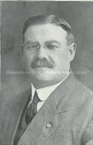 Image of Portrait of Emil J. Berglund - ATC.1445