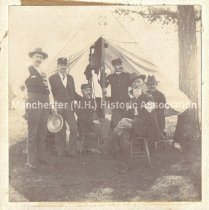 Image of Members of the New Hampshire Battery Band - CML.003