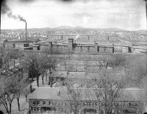 Image of View of the Corporation Housing to Mill Yard along Spring Street - MHAGN 338