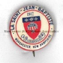 Image of La State-Jean-Baptiste Button, 1942 - 1963.009.005