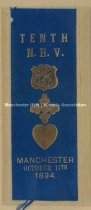 Image of Tenth N.H.V. Reunion Ribbon, 1894 - 1973.510.001.4