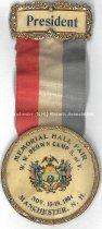 Image of Badge - Memorial Hall Fair - W.W. Brown Camp, 1904 - 1973.510.002