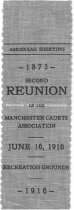 Image of Second Reunion of the Manchester Cadets Association, 1916 - 1973.514.004