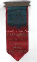 Image of Sixth Annual Merchants' Week Badge, 1895 - 1973.571.003