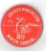 Image of Greater Manchester Winter Carnival Button, 1971 - 1981.145.077.4