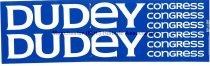 Image of Bumper Sticker - Dudley Dudley, Congress Congress, 1984 - 1984.042.002