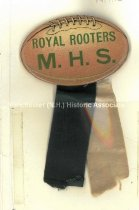 Image of Badge - Royal Rooters - M.H.S. - 1989.001.010