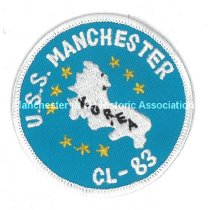 Image of Arm Patch - U.S.S. Manchester - CL-83 - Korea - 2006.001.001