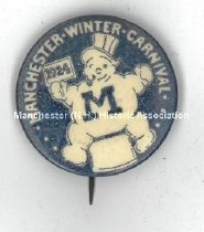 Image of Manchester Winter Carnival Button, 1924 - 2010.600.007