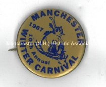 Image of Button - Manchester Winter Carnival 1967 - 2016.079.011