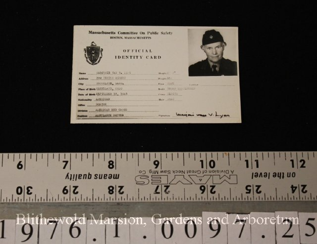 Card Identification Card 1940s Card Identification - 1940s -