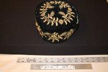 Image of Hat, black velvet