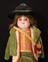 Image of Closeup of Italian doll
