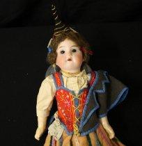 Image of Madeira doll closeup
