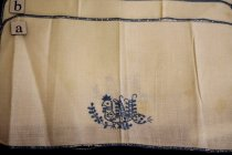 Image of Embroidered Linen Napkin