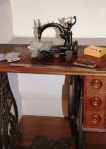 Image of Sewing Machine Console centered
