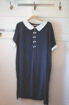 Image of Short Dress Navy