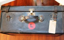 Image of Leather Suitcase