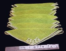 Image of Napkin, Pulled thread work