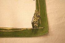 Image of Napkins, Wheat stalks