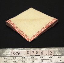 Image of Napkin, embroidered