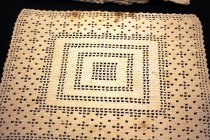 Image of Placemat, crocheted