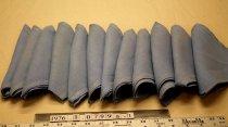 Image of Napkins, linen, blue