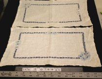 Image of Placemats, embroidered