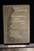Image of STUDIES OF AMERICAN FUNGI. MUSHROOMS EDIBLE, POISONOUS, ETC. -