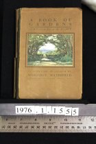 Image of A BOOK OF GARDENS - Hyatt, A. H. compiler; Illustrated in colour by Margaret H. Waterfield