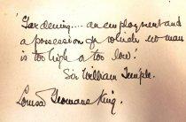 Image of Author's inscription