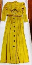 Image of Chartruese Belted Dress