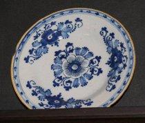 Image of Plate, Dessert - 1700s