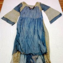 Image of Chiffon and Lace Dress, front