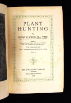 Image of Wilson Plant Hunting vol I title page