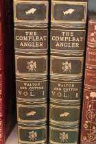 Image of THE COMPLEAT ANGLER/ OR THE/ CONTEMPLATIVE MAN'S RECREATION/ BEING A DISCOURSE OF RIVERS, FISH PONDS/ FISH & FISHING, WRITTEN BY/  MR. IZAAK WALTON/ AND......