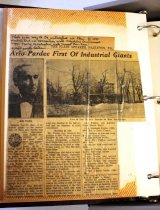 Image of Ario Pardee Clipping