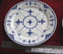 Image of Plate, Dinner - 1890s, late