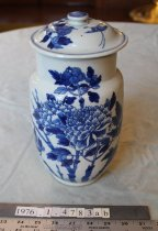 Image of Peony vase with cover