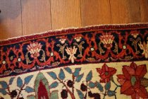 Image of Rug fringe detail
