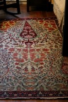 Image of Rug on exhibit in Stickley room