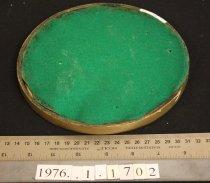 Image of Small tray verso