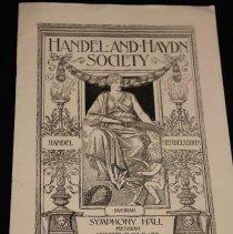 Image of Handel's MESSIAH