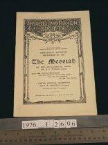 Image of Handel's The Messiah