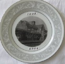 Image of 2008.4.25 - Plate, Commemorative