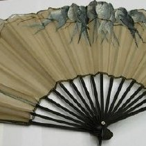 Image of 2009.4.012 - Fan, Handheld