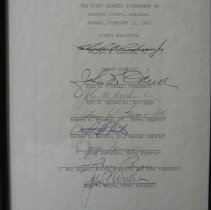 Image of 2009.4.147 - Document, Autograph