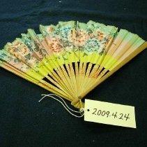 Image of 2009.4.024 - Fan, Handheld