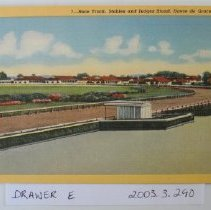 Image of 740p - Race Track, Stables and Judges Stand, Havre de Grace, Md