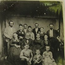 Image of 4587 - Hughes Family - 1873